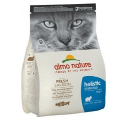 Almo Nature Holistic Functional Sterilizzato / Sterilised Gatto Kg 2 con Salmone Fresco