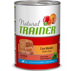 Trainer Natural Cane Medio Maxi Light con Maiale 400 gr