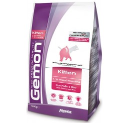 Gemon Gatto Kitten Pollo Riso gr 400