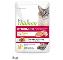 Trainer Natural Busta gr. 85 Sterilised al Tacchino