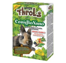 Nutrena Throls Coniglio Nani gr 750 - Alimento composto per conigli nani