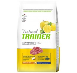 Trainer Natural Small & Toy Manzo 800 gr