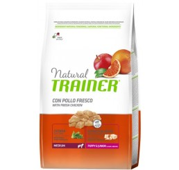 Trainer Natural Medium Puppy & Junior 3 Kg