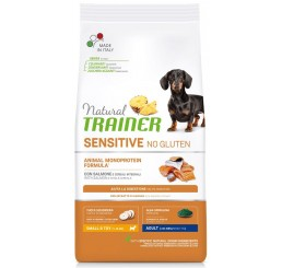 Trainer Natural Sensitive No Gluten Adult Small & Toy / Mini Salmone Kg 2