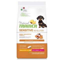 Trainer Natural Sensitive No Gluten Puppy & Junior Small Toy / Mini Salmone gr 800
