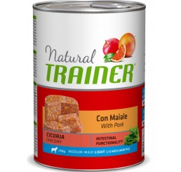Trainer Natural Cane Medio Maxi Pollo 400 gr
