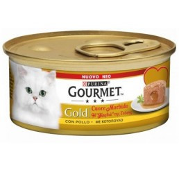 Gourmet Gold Melting Heart / Cuore Morbido con Pollo 85 gr