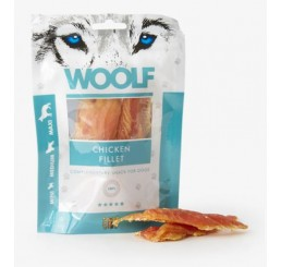 Woolf Snack Cani Monoproteico Filetto di Pollo 100 gr (Chicken Fillet)