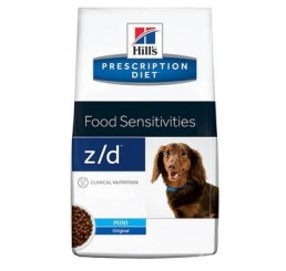 Hill's Canine Z/D Mini Food Sensitivities Kg. 1.5